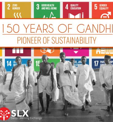 fäctli Gandhi sustainability